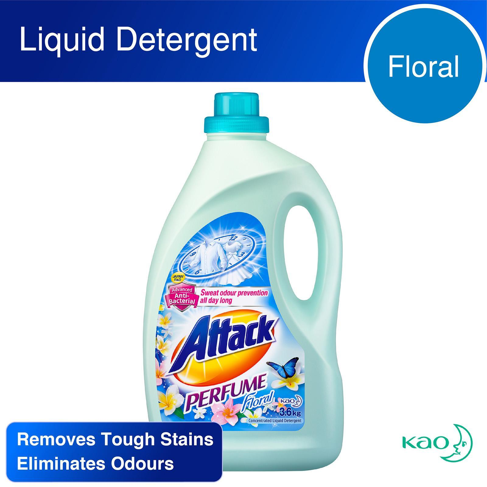 ATTACK Laundry Liquid - Perfume Floral 3.6kg