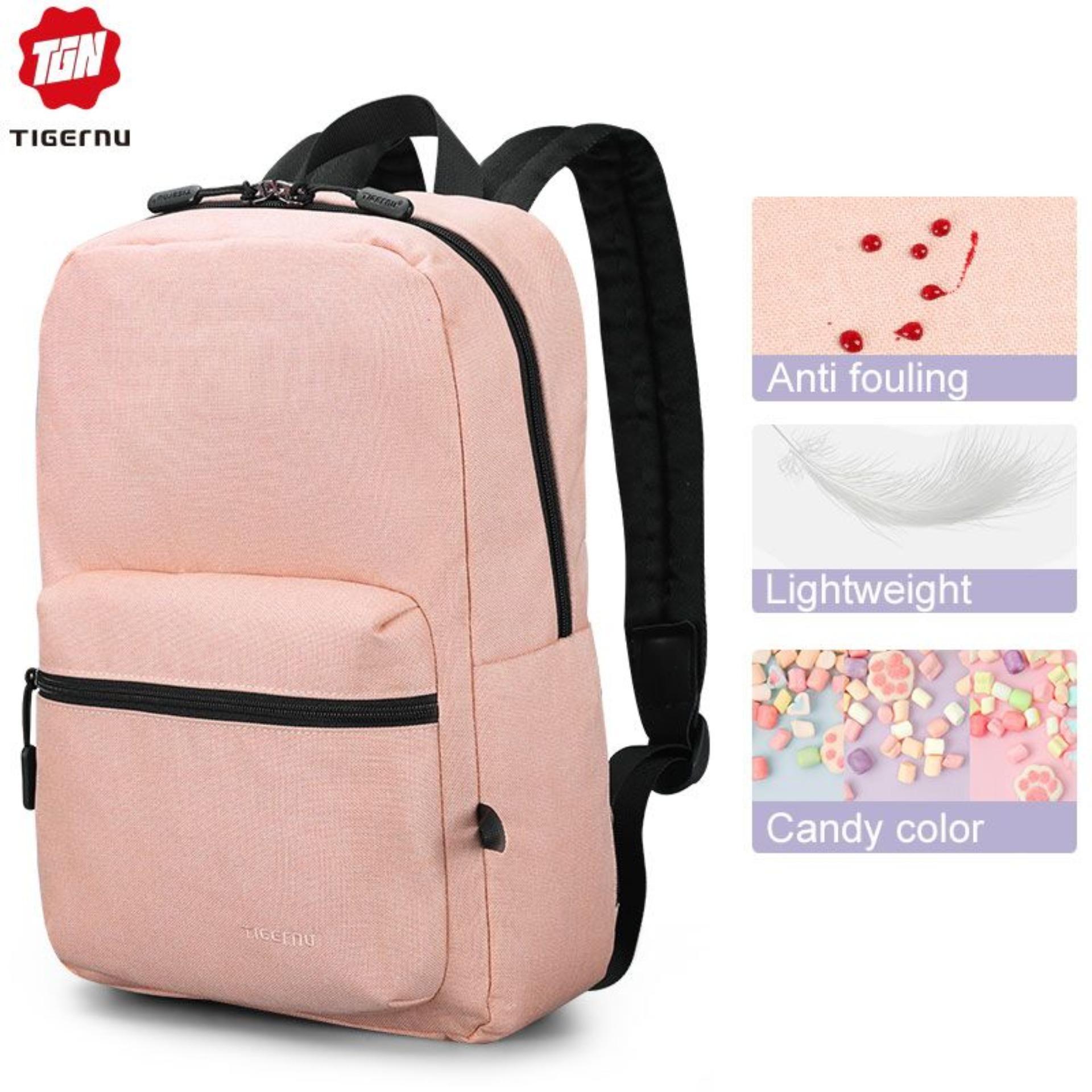 Tigernu New Anti fouling College School Backpacks Fit for 14 inch laptop Fashion bag women School bag for Girls