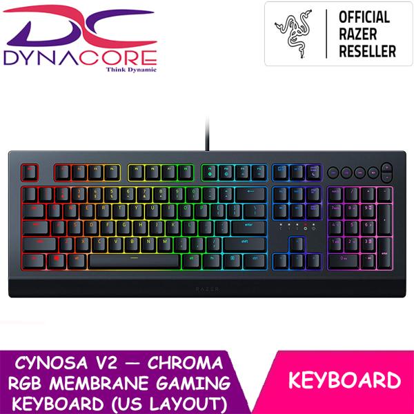 DYNACORE - Razer Cynosa V2 — Chroma RGB Membrane Gaming Keyboard (US Layout) Singapore