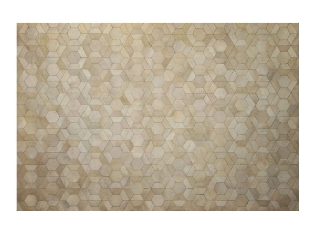 CP 124 Cowhide Leather Rug