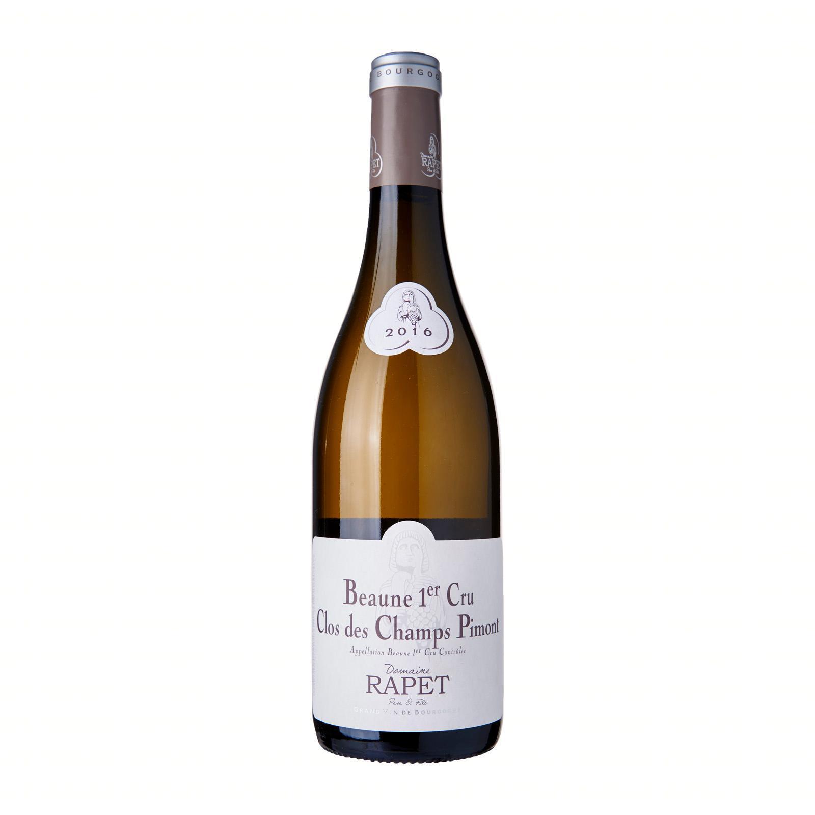 Domaine Rapet Beaune 1Er Cru Clos Des Champs Pimont 2016