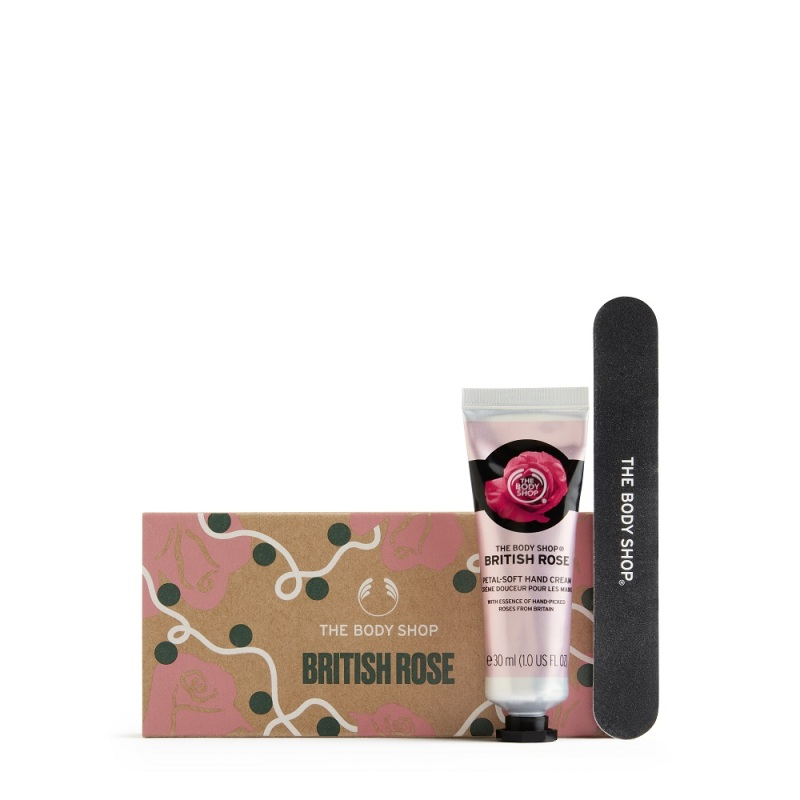 Buy The Body Shop Handpicked British Rose Hands & Nails Kit (Christmas Gift Set) Singapore