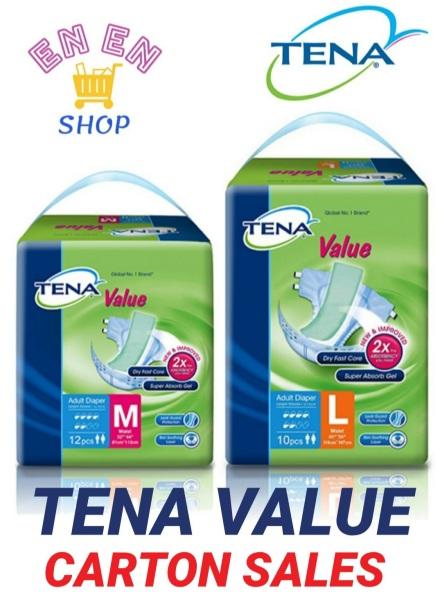 Buy [CARTON SALES] TENA Value Pack Adult Diapers M, L Singapore