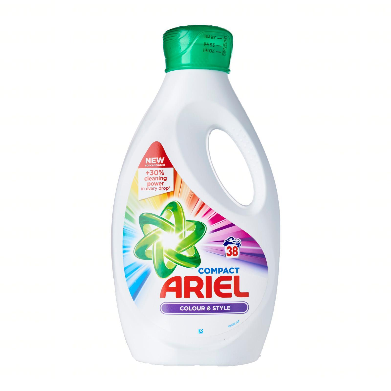 Ariel Washing Liquid Colour Detergent - Colour And Style