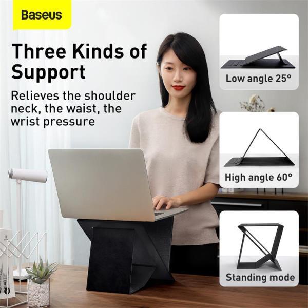 Baseus Ultra High Folding Laptop Stand Holder for Macbook iPad Notebook Home Office