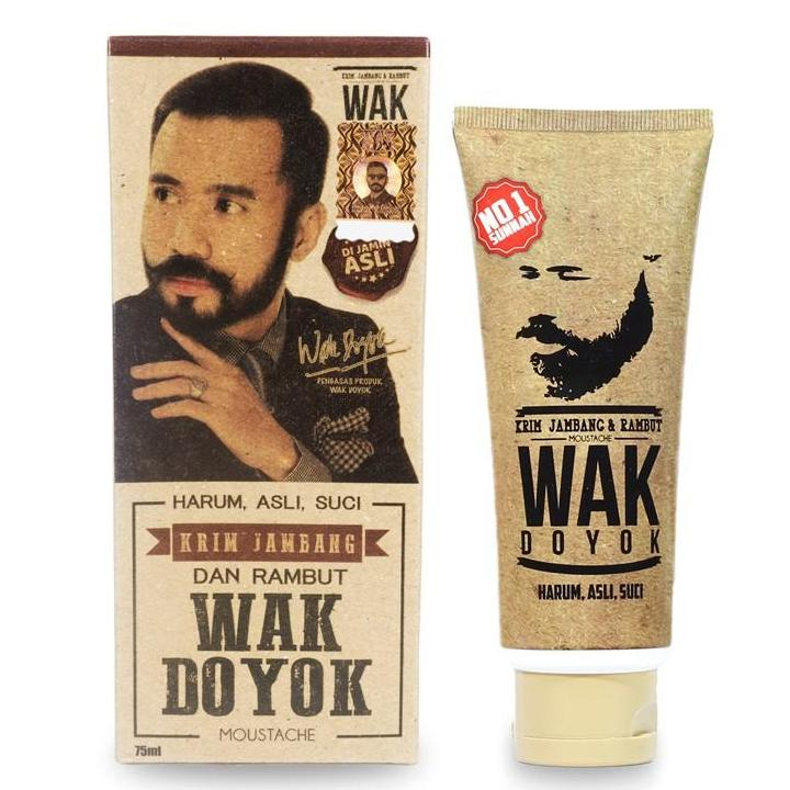 Wak Doyok Beard & Hair Growth Cream (new Improved Formula) (75ml) By The Bro Store.