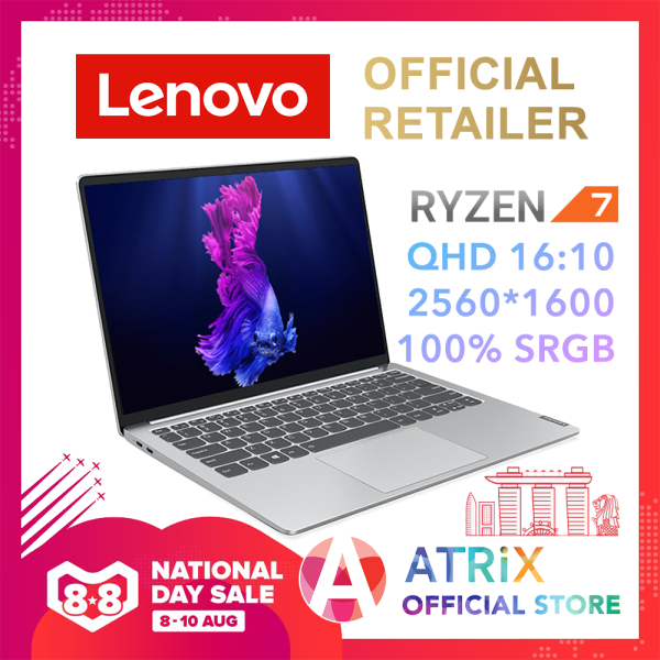 【Same Day Delivery】Lenovo ideapad S540 2K 16:10 100% sRGB | Ryzen7 4800U (8C,16T,4.2Ghz) | 16GB RAM | 512GB SSD | WIFI6 AX | 56Wh Battery | 1.2Kg Aluminium built | S540-13ARE 82DL001KSB | 2Yrs Lenovo onsite warranty
