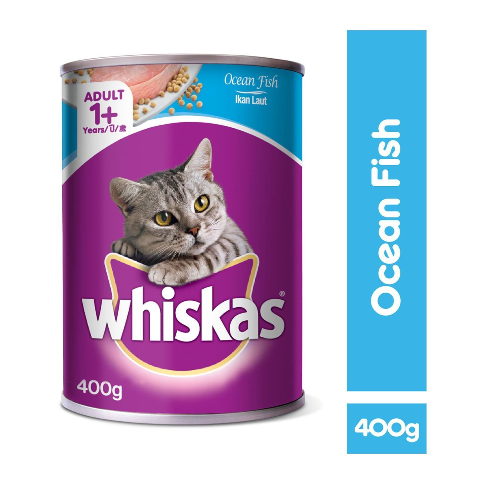 Whiskas Ocean Fish Wet Food for Cat