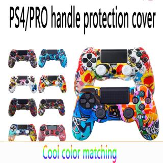 Low Prize vỏ Bọc Tay Cầm PS4 Áp Dụng Vỏ Bảo Vệ Tay Cầm PS4pro Vỏ Bảo Vệ Tay Cầm PS4 Bằng Silicon Vỏ Bọc Tay Cầm Phong Cách Truyện Tranh thumbnail