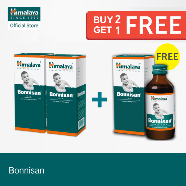 Buy [Get 3 at Price of 2] 120ml Bonnisan Syrup - Kids Gastrointestinal Health Singapore