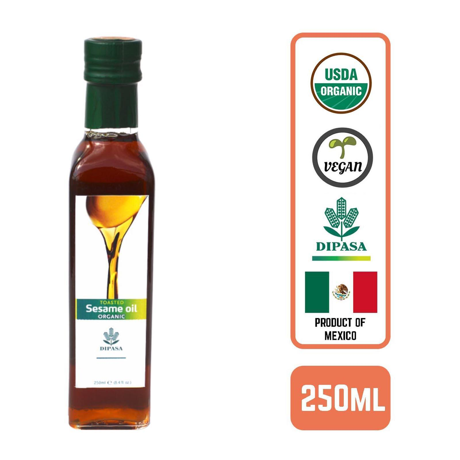 Dipasa Organic Toasted Sesame Oil By Redmart.