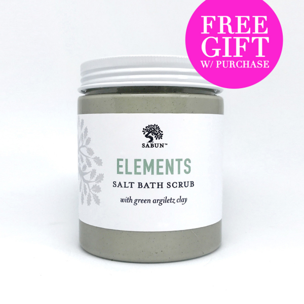 Buy Elements Epsom Salt & Clay Body Scrub Singapore