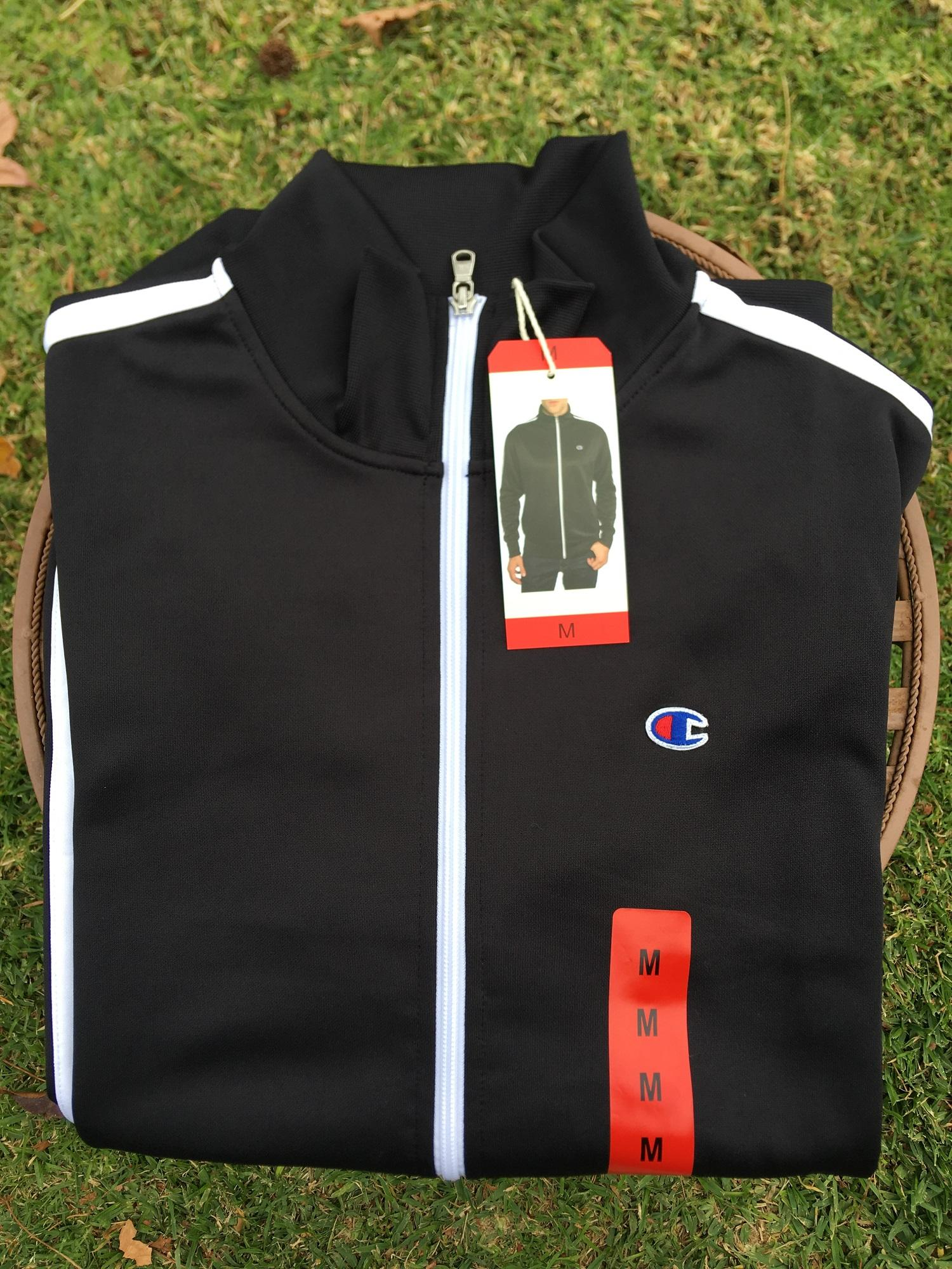 100% Authentic & Brand New Champion Mens Track Jacket-Champion Exclusive Usa Edition By Slmart.