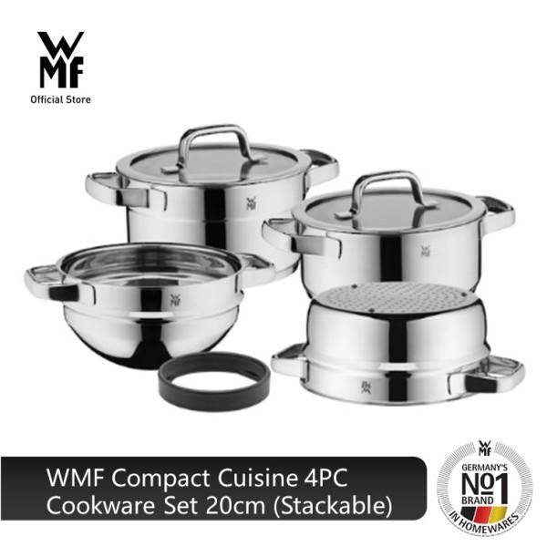 WMF Compact Cuisine 4PC Cookware Set 20cm (Stackable) 0798046380 Singapore