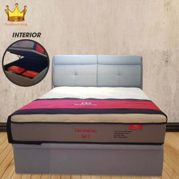 Pre-order Cashmerian Lux V Mattress 12inches ★Protector ★Storage Bed ★Beddings ★Bed Frame ★Bed Room ★Sofa