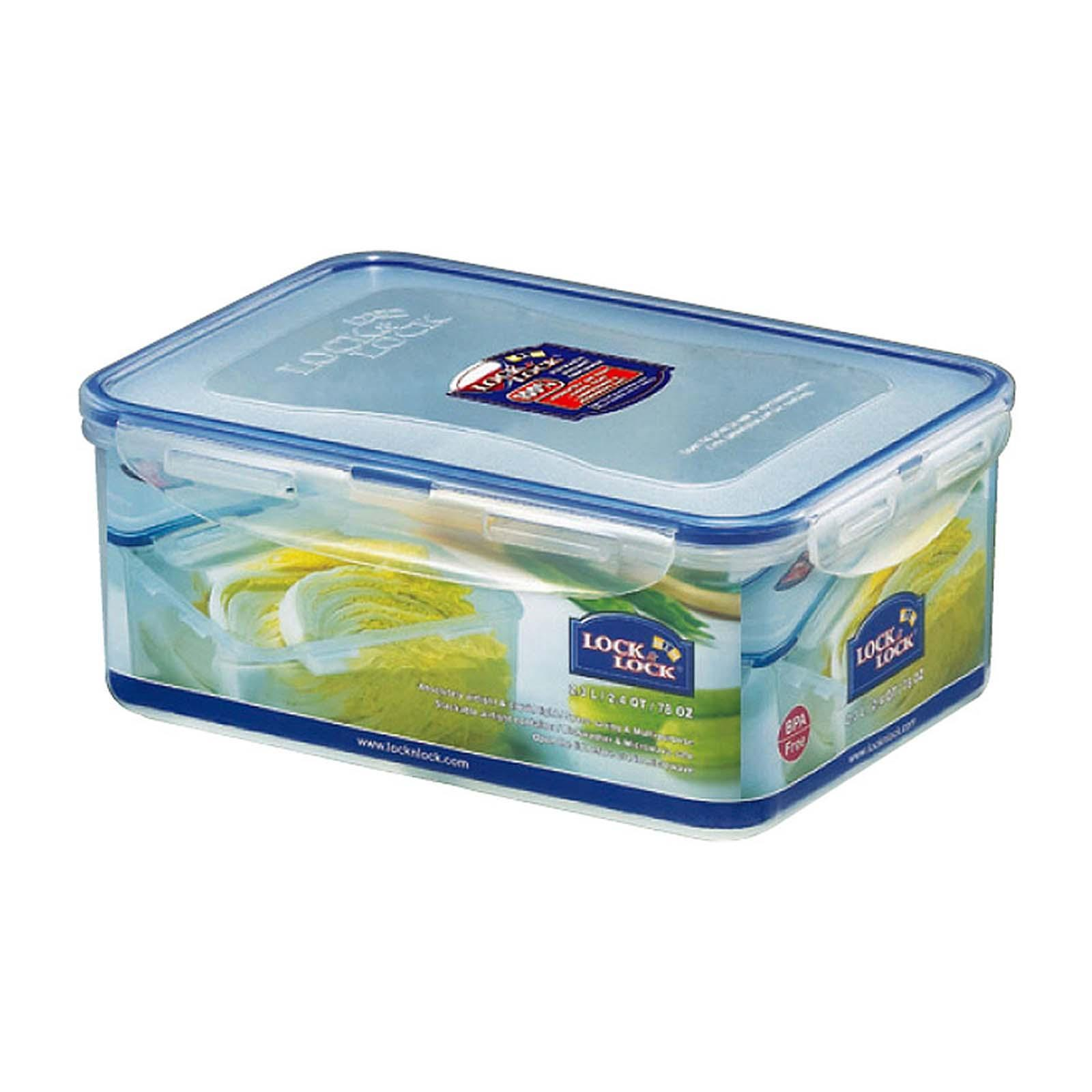 Lock & Lock Rectangular Classic Food Container 2.3L