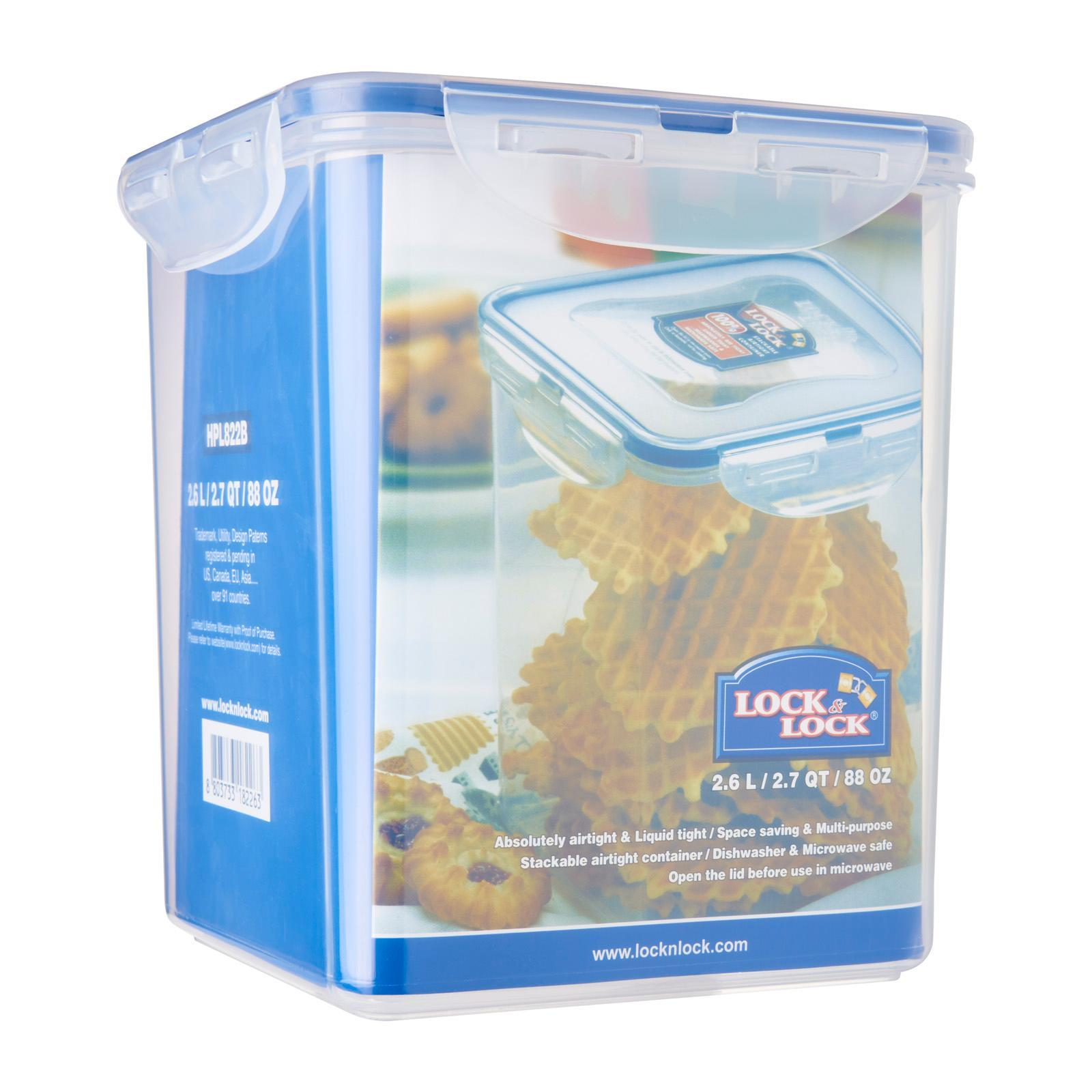 Lock & Lock Square Classic Food Container 2.6L