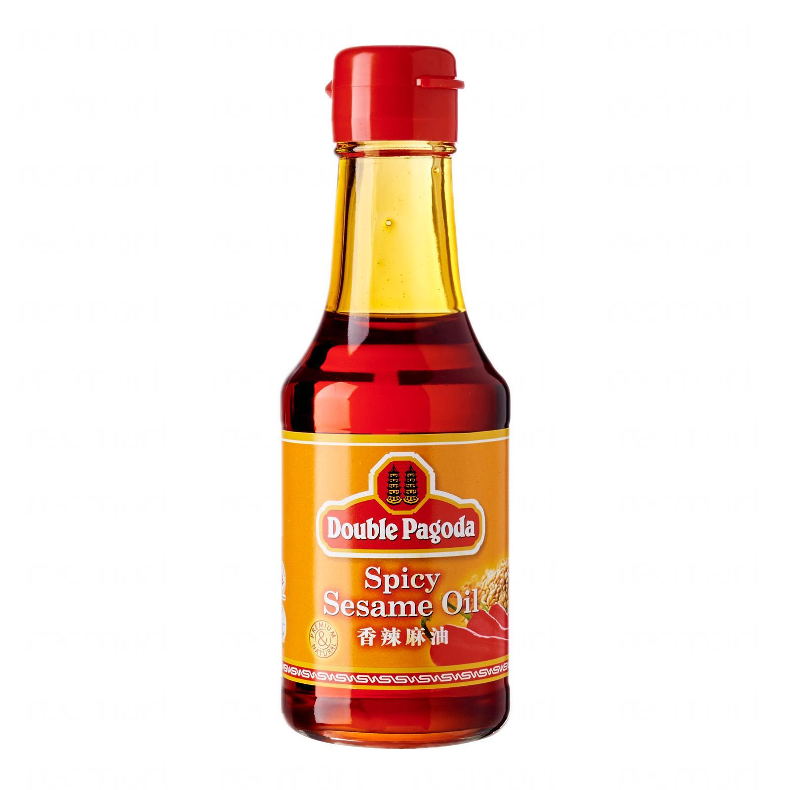 Double Pagoda Spicy Sesame Oil By Redmart.