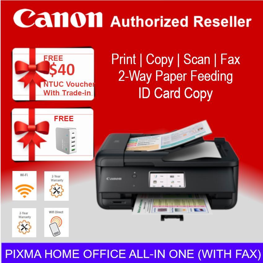 [Local Warranty] Canon PIXMA TR8570 Office All-In-One Auto Duplex Printing  and Fax Wireless Inkjet Printer Singapore