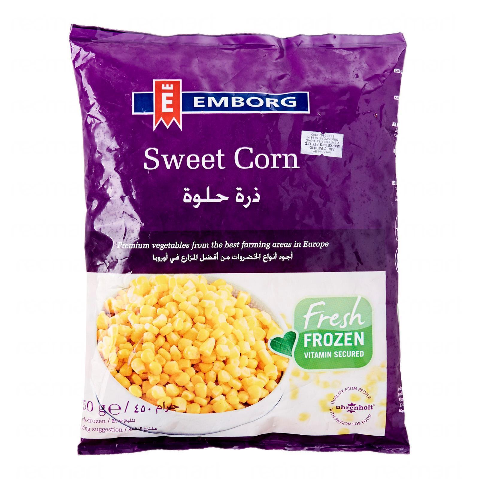 Emborg Sweet Corn - Frozen By Redmart.