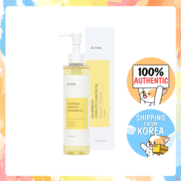 Buy [iUNIK] Calendula Complete Cleansing Oil 200ml Singapore