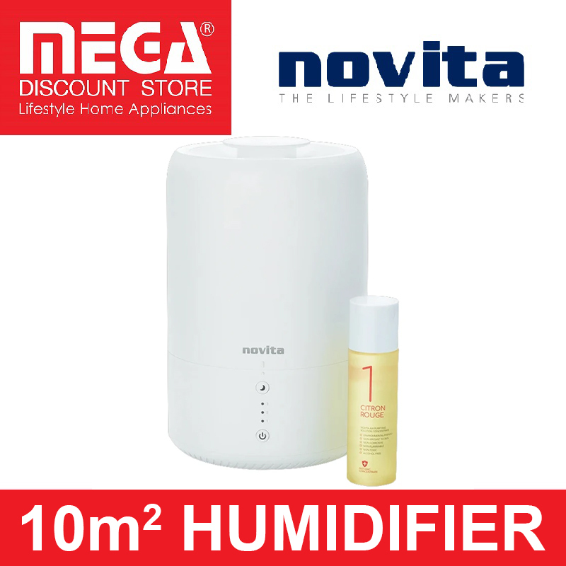 NOVITA NH810 107ft² HUMIDIFIER (FREE SOLUTION CONCRETE) Singapore