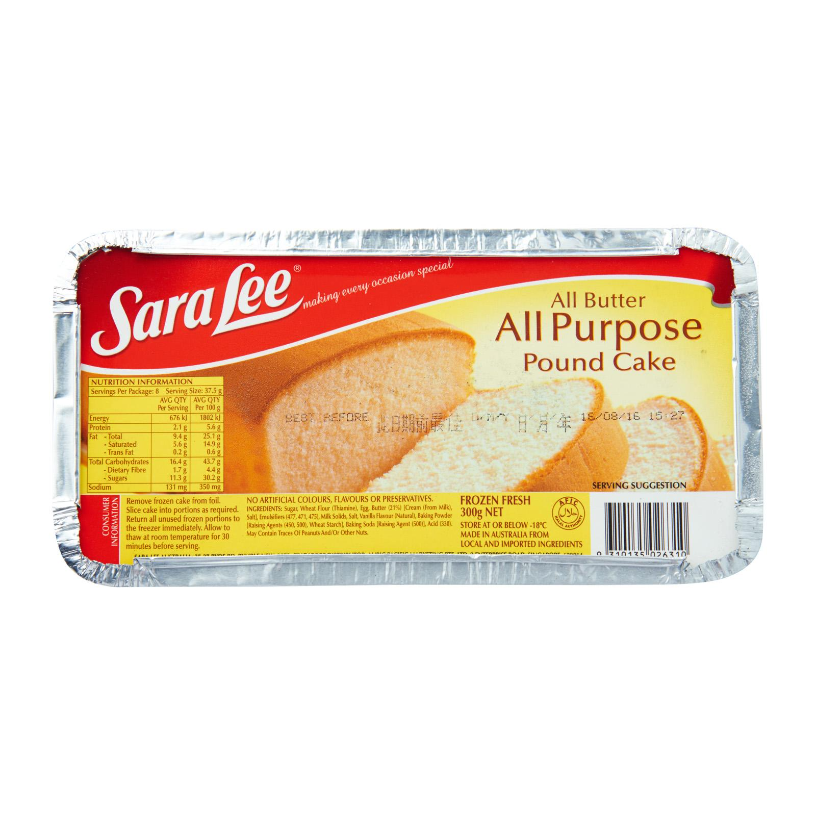 Sara Lee Plain - Frozen By Redmart