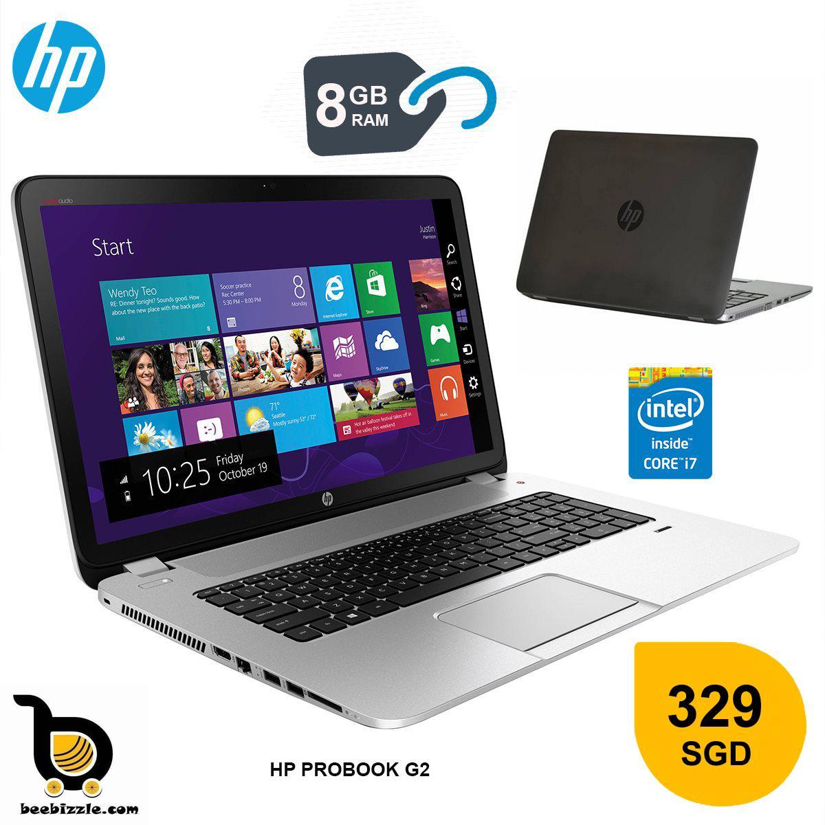 HP PROBOOK 430 (G2) INTEL CORE I7 PROCESSOR ( 13.3 INCH ) 8GB RAM AND MORE....