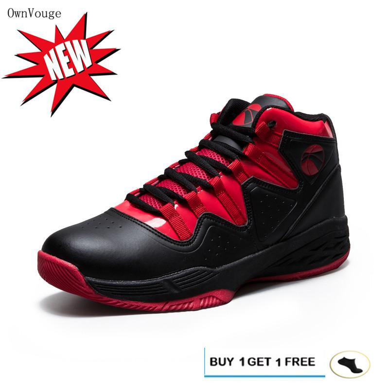 7ce7e994 OwnVouge 2019 Jordan Basketball Shoes for Men Breathable Anti-slip Sneakers  Men Lace-up