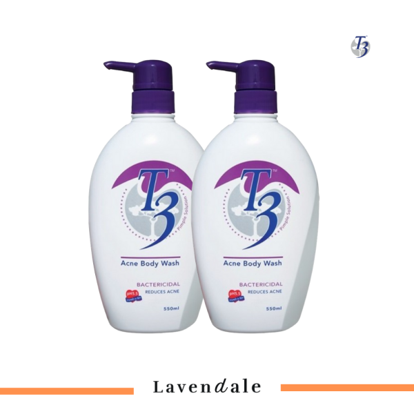 Buy [Twin Bundle] T3 Top-Selling Acne Body Wash Singapore