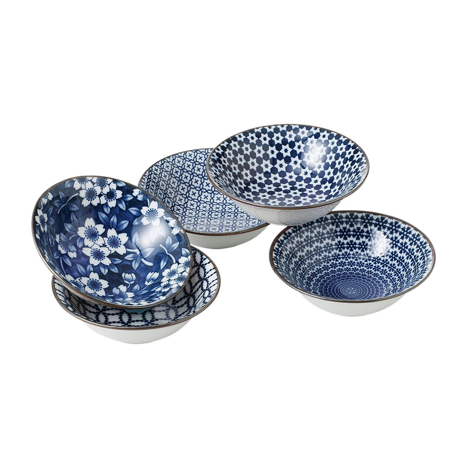Tsuru 78 - 53 - 45 5 PCS Soup Bowl Set