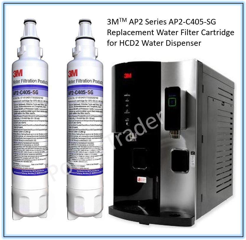 3m Hcd2 Water Filter Ap2-C405-Sg Replacement Cartridge [2 Units].
