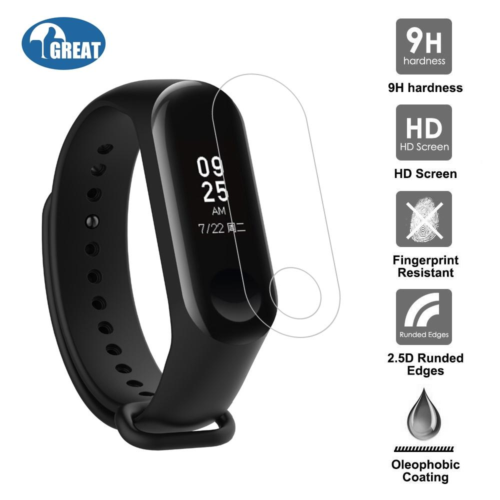 Goodgreat Mi Band Ultra Clear Ultra-Thin Shock Absorption Protective Screen Protector Cover Film For Xiaomi Mi Band 3 Smart Bracelet By Good&great.