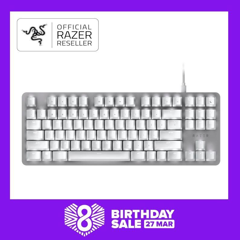 Razer BlackWidow Lite - Silent Mechanical Gaming Keyboard - Mercury Singapore