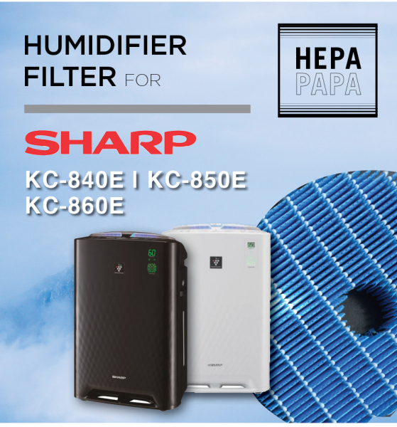 Sharp KC-840E/850E/860E-FZ-C100MFE Compatible Humidifier Only [Free Alcohol Swab] [SG Seller] [7 Days Warranty] [HEPAPAPA] Singapore