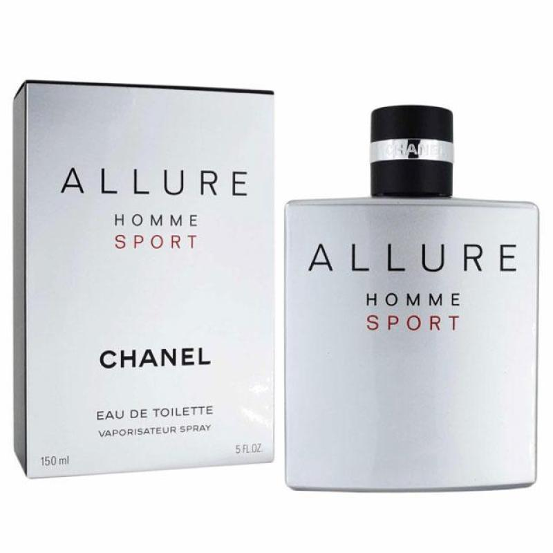 Buy Chanel Allure Homme Sport EDT for Men (150ml) Eau de Toilette Sports Silver [Brand New 100% Authentic Perfume/Fragrance] Singapore