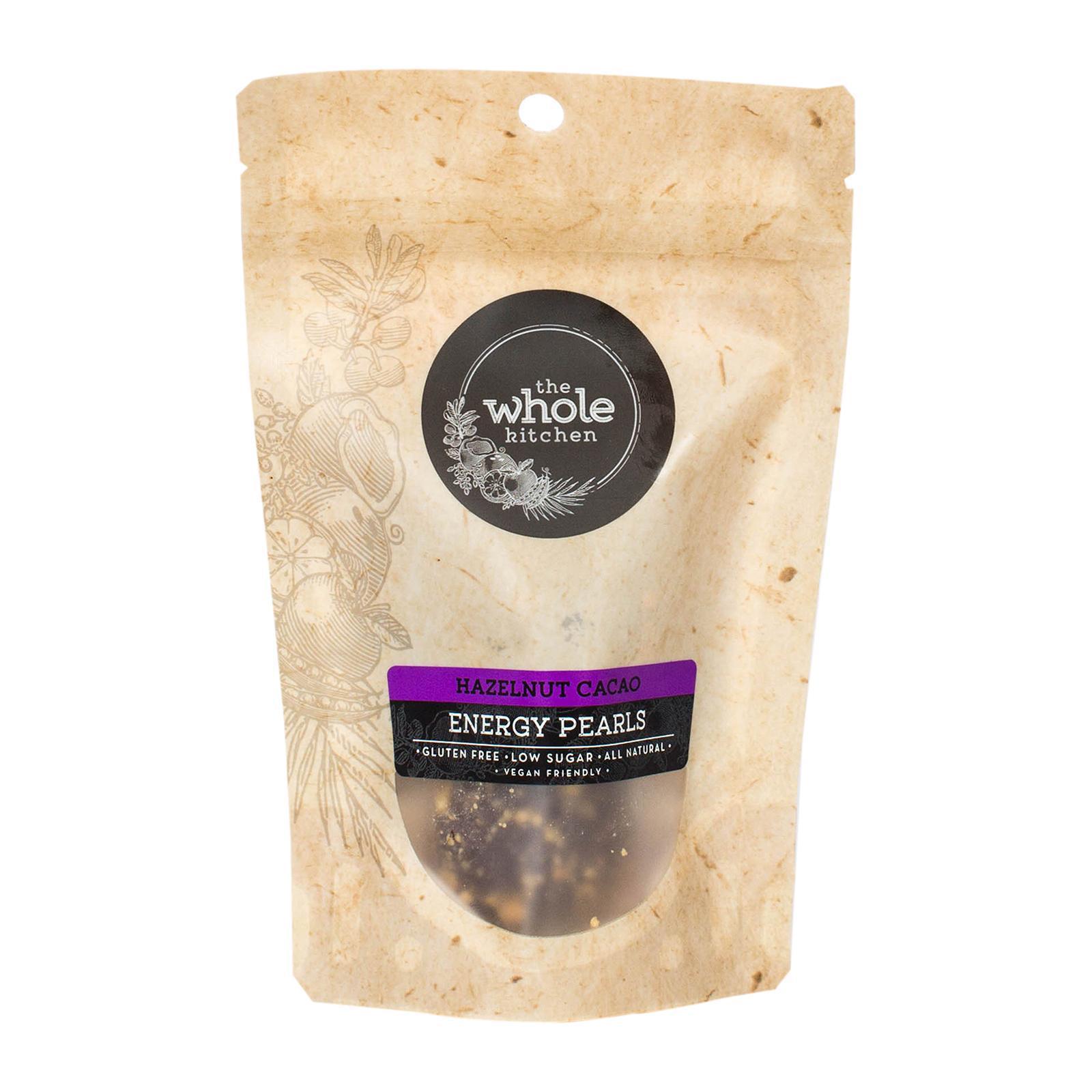 The Whole Kitchen Gluten Free Energy Balls/ Protein Balls- Hazelnut Cacao - 2 Pack