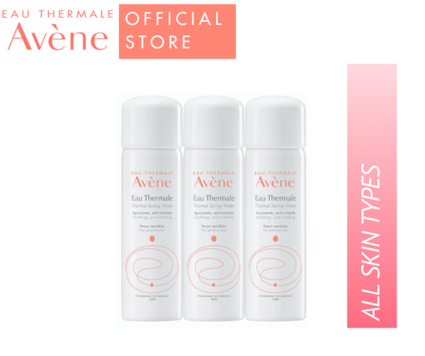 Buy Avene Thermal Spring Water 50ml (Triple Pack) Singapore