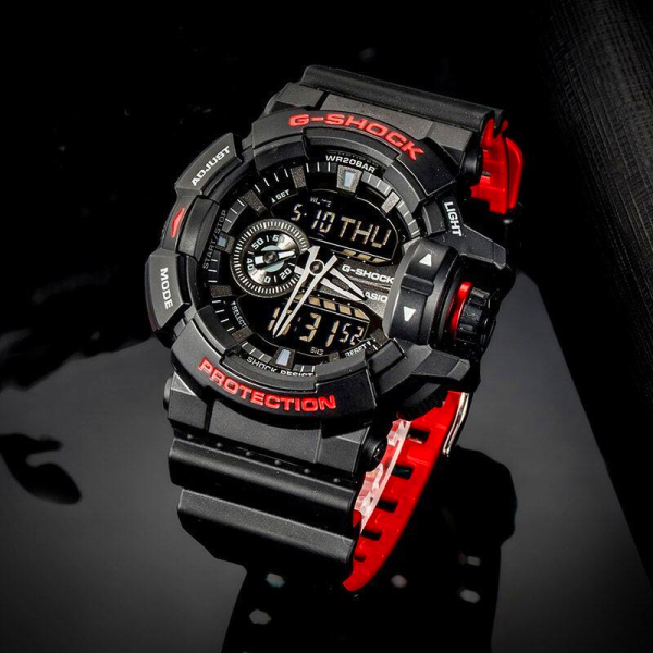 (Ready stock) Original  G Mens Double 200m Waterproof Shockproof World Light Emitting Diode Car Lamp Wist Sports Watch Malaysia
