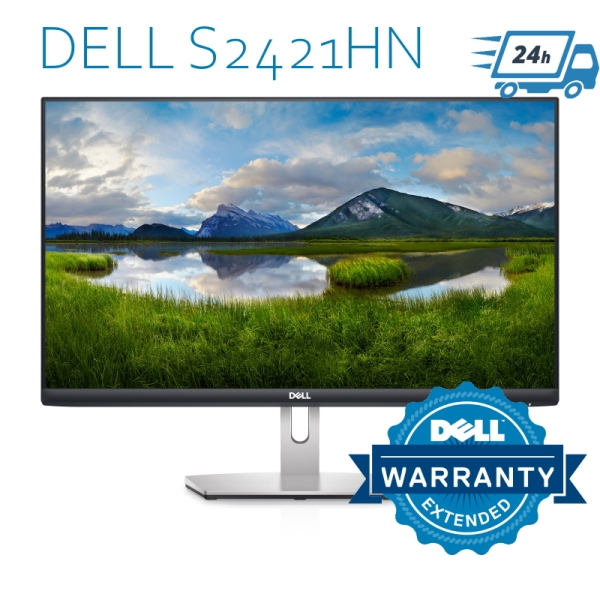 Dell S2421HN 24 IPS FHD Monitor with HDMI Cable, Replacement for Dell SE2419HR Monitor (1920 x 1080) - Free 24Hr Delivery