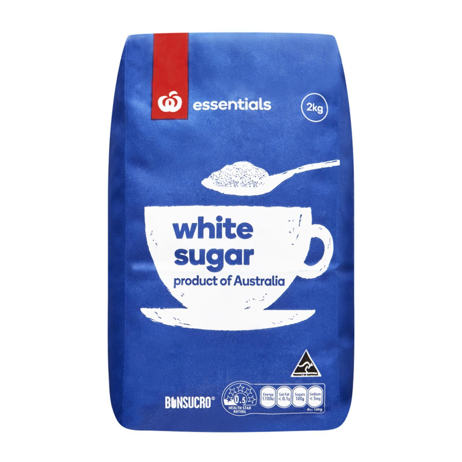 Woolworths Essentials White Sugar 2Kg
