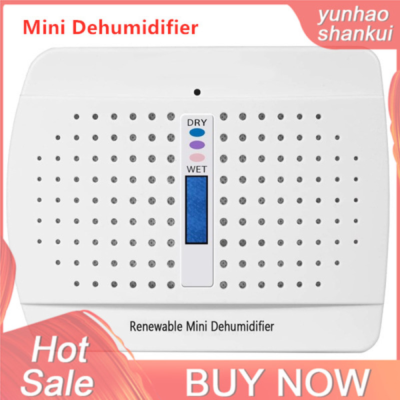 Mini Dehumidifier Rechargeable Dehumidifier Frigidaire Small Space Air Dryer for Car Home Bedroom Kitchen Office Singapore