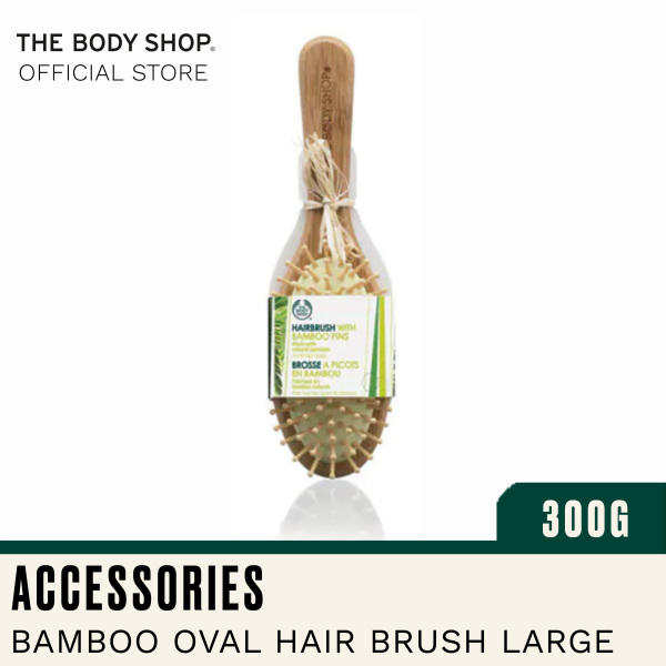 Buy The Body Shop Oval Bamboo Pin Hairbrush Singapore