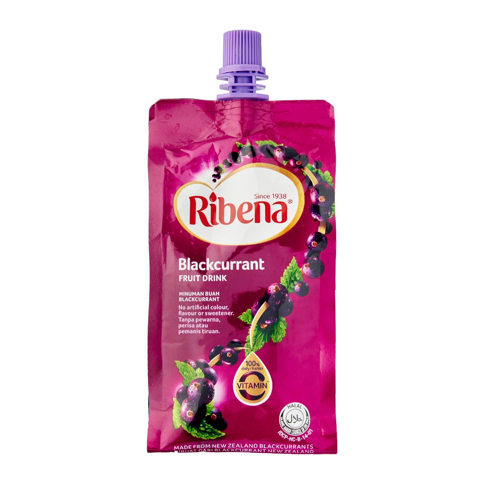 Ribena Cheerpack Blackcurrant and Strawberry Fruit Drink