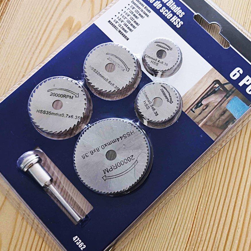 OSMAN Mini Circular Saw Blade Hss Cutting Disc Rotating Drilling Tool Accessories