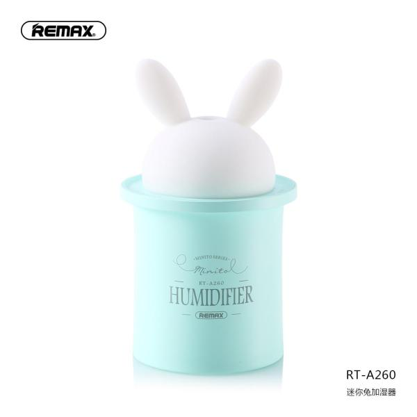 Remax Fan Rabbit Humidifier Mini Small USB Water Moisturizing Household Bedroom Mute Office Car Mounted Air Spray Birthday Gift Night Light Students Dormitory female Pregnant Women Infant Cleaner Singapore