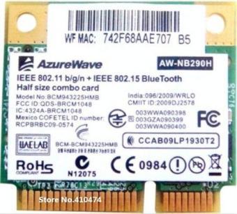 SSEA New Bluetooth3 0 Wifi network Card for Broadcom BCM943225 Bcm943225hmb  Wireless 802 11b/g/n Half Mini PCI-E AW-NB290H C Store