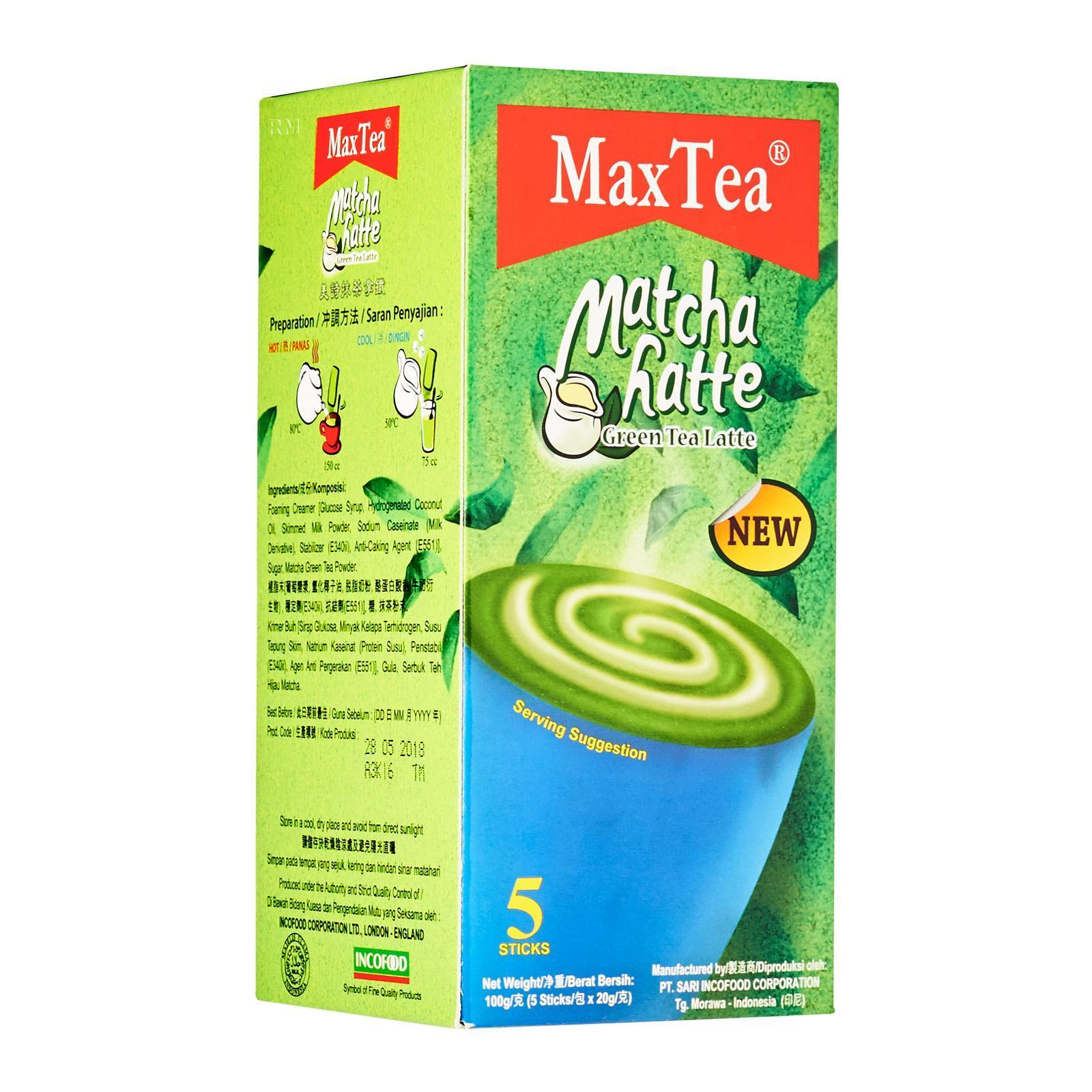 Indocafé Matcha Latte 5'S