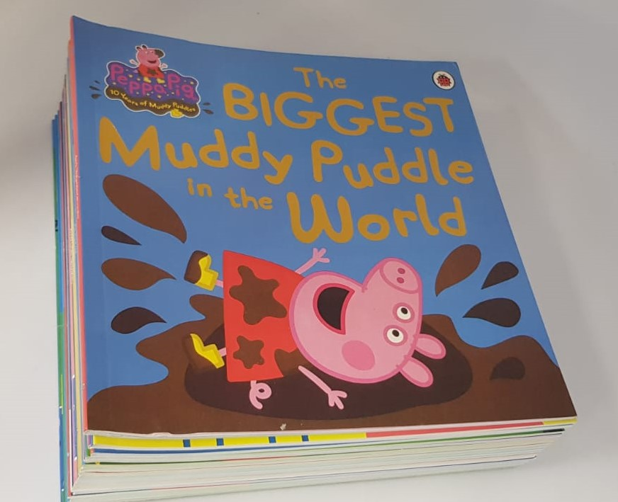 [SG READY STOCK] [20 BOOKS] LADYBIRD PEPPA PIG Picture Story Books