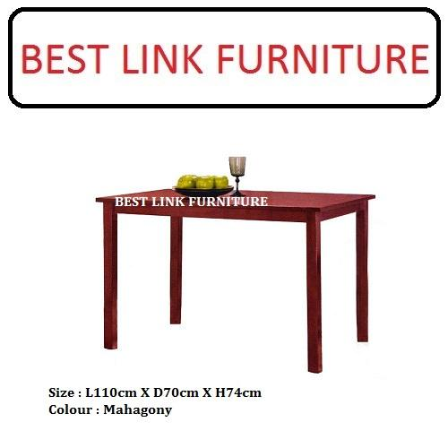 BEST LINK FURNITURE BLF 720 Mahagony Dining Table